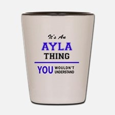 Unique Ayla Shot Glass