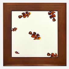 clownfish Framed Tile