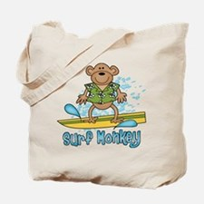 Surf Monkey Tote Bag