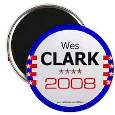 """""""Wes Clark in 2008"""" Magnet"""