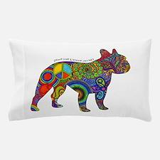 Peace Love Boston Terriers Pillow Case
