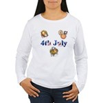 4th July Women's Long Sleeve T-Shirt