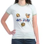 4th July Jr. Ringer T-Shirt