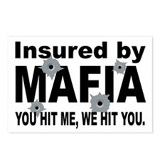 Insured by Mafia Postcards (Package of 8)