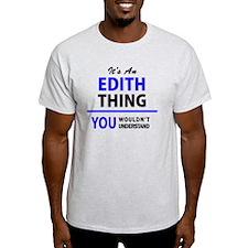 Funny Edith T-Shirt