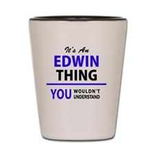 Cute Edwin Shot Glass