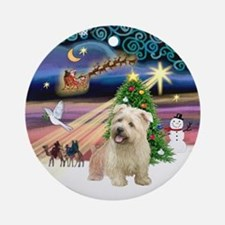 Xmas Magic & Glen of Imaal Ornament (Round)