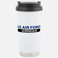 U.S. Air Force Airman Travel Mug