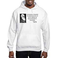 Charles Darwin 10 Hoodie
