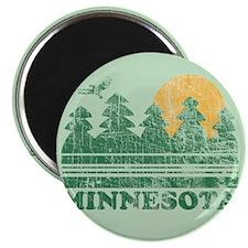 "Unique Pine tree 2.25"" Magnet (10 pack)"