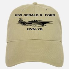 USS GERALD R. FORD Baseball Baseball Cap