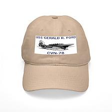 USS GERALD R. FORD Baseball Cap