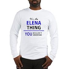 Cute Elena Long Sleeve T-Shirt