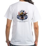 Dare Wear-Utah Space Command -White T-Shirt