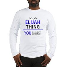 Cool Elijah Long Sleeve T-Shirt