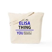 Cute Elisa Tote Bag