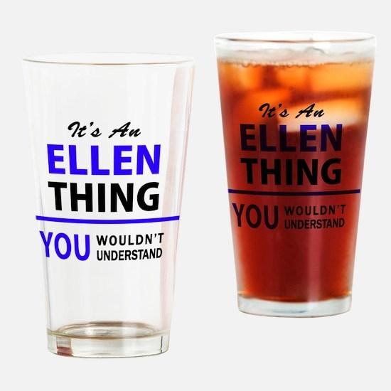 Cute Ellen Drinking Glass