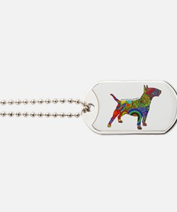 Peace Love Bull Terriers Dog Tags