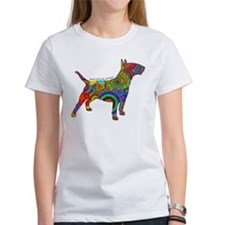 Peace Love Bull Terriers Tee