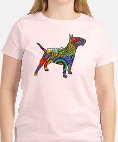 Peace Love Bull Terriers T-Shirt