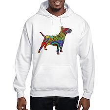 Peace Love Bull Terriers Jumper Hoodie