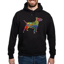 Peace Love Bull Terriers Hoodie