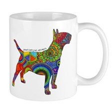 Peace Love Bull Terriers Mug
