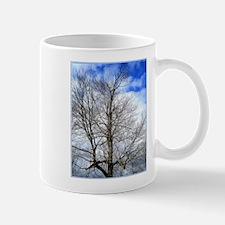 Tree, clouds, sky, photo Mugs