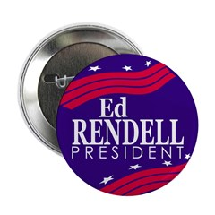 Ed Rendell for President (Button)