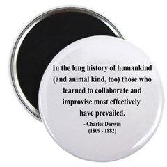 Charles Darwin 10 Magnet