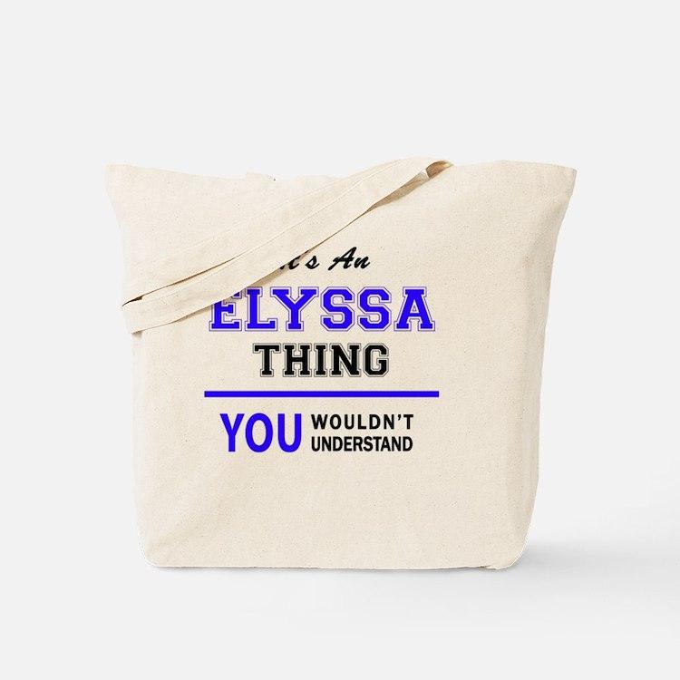 Cute Elyssa Tote Bag