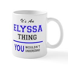 Cute Elyssa's Mug