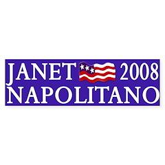 Janet Napolitano 2008 (bumper sticker)