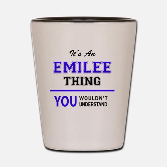 Unique Emilee Shot Glass