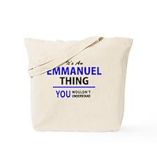 Funny Emmanuel Tote Bag