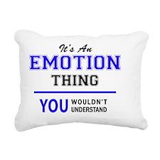 Cute Emotion Rectangular Canvas Pillow