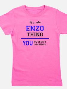 Cute Enzo Girl's Tee
