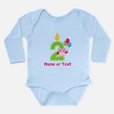 2nd Birthday Long Sleeve Infant Bodysuit