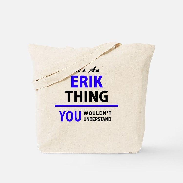 Cute Erik Tote Bag