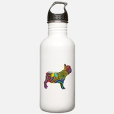 Peace Love Frenchies Water Bottle