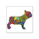 French bulldog puppy Bumper Stickers