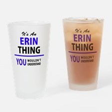 Unique Erin Drinking Glass