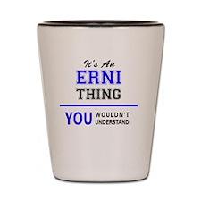 Funny Ernie Shot Glass