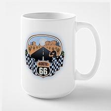 Route 66 Desert Large Mug