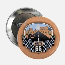 "Route 66 Desert 2.25"" Button"