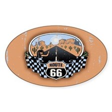 Route 66 Desert Decal