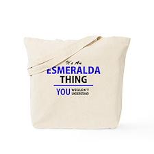 Cute Esmeralda Tote Bag