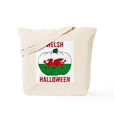Welsh Halloween Tote Bag