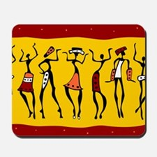 African Dancers Mousepad