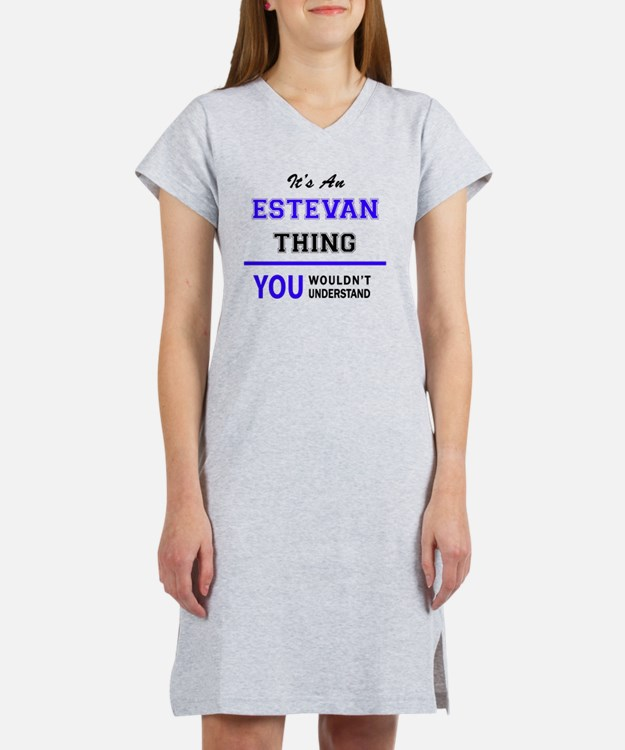 Cute Estevan Women's Nightshirt